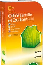 Office famille et tudiant 2010 - Installer office famille et etudiant 2013 ...